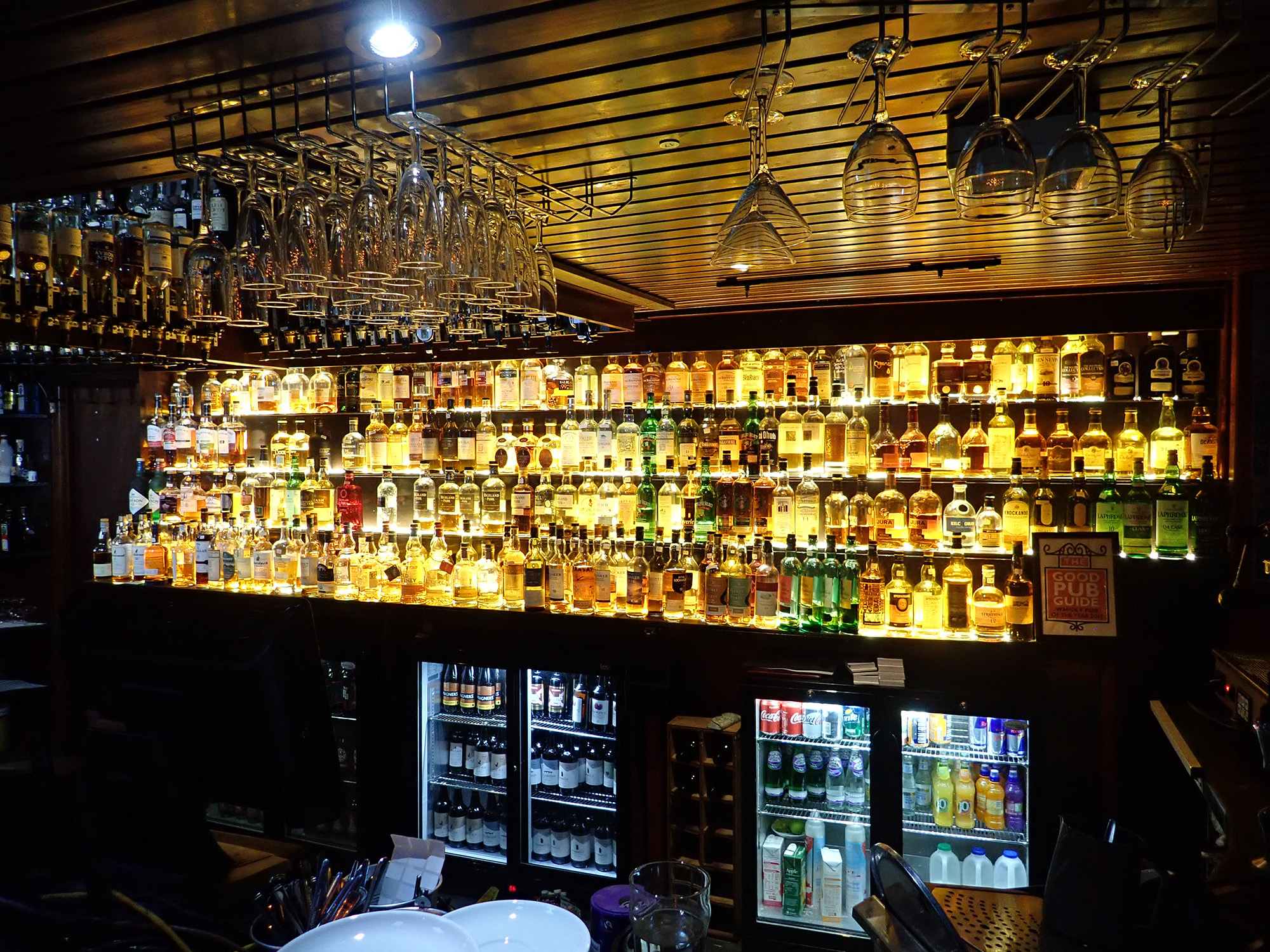 9  with over 450 Malt Whiskies.JPG